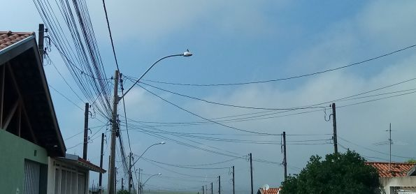 Nevoeiro no interior paulista
