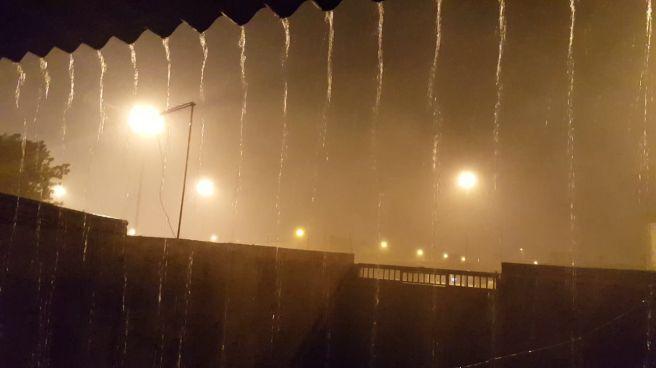 Chuva de forte intensidade em Ceilândia/DF
