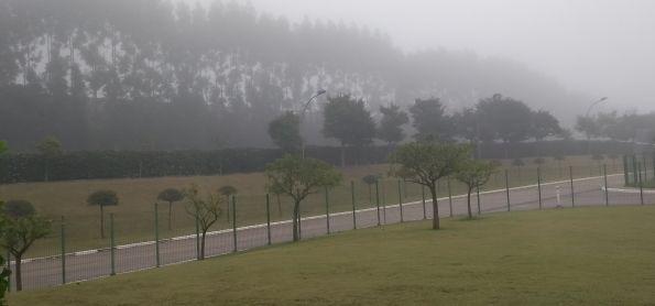 Nevoeiro em Indaiatuba