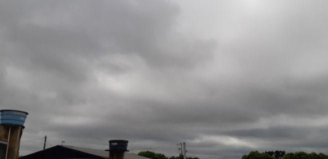 Bem nublado!!!!