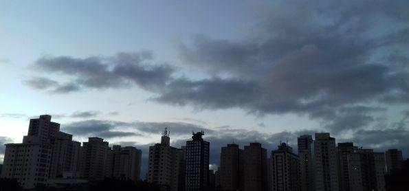 Fim de tarde em São Paulo!