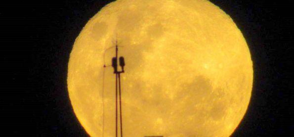 Lua Cheia hoje no Rio de Janeiro - 19/05/2019