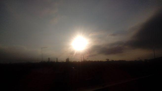 Lindo por do sol em curitiba