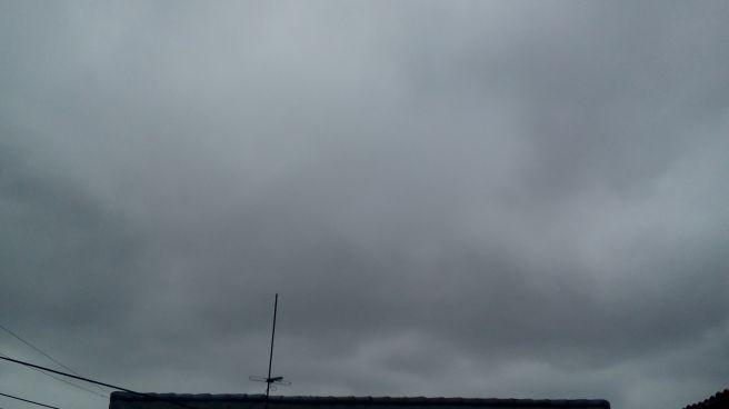 Tarde nublada e fria em curitiba