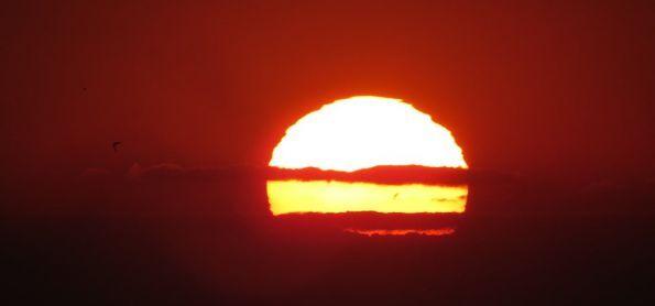 Pôr do sol de 16 de junho em São Thomé das Letras