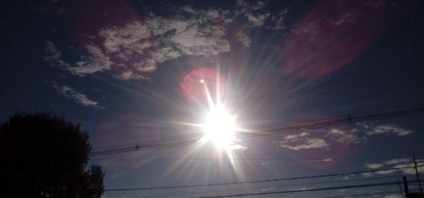Sol nessa manha de quarta feira em curitiba