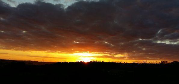 Pôr do sol em Itapira-SP!
