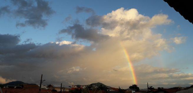 Ciclone Extratropical, passagem do olho em Penha Sc