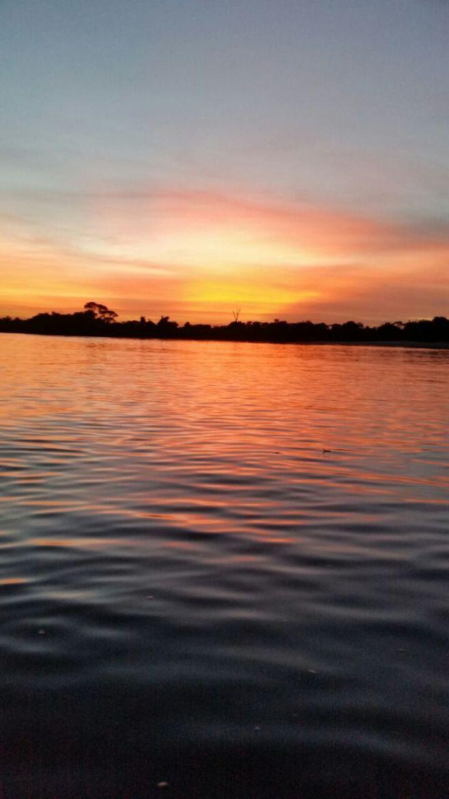 Entardecer no Rio Araguaia