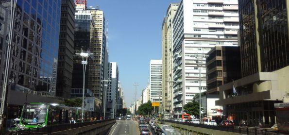 Tarde de sol na Avenida Paulista!