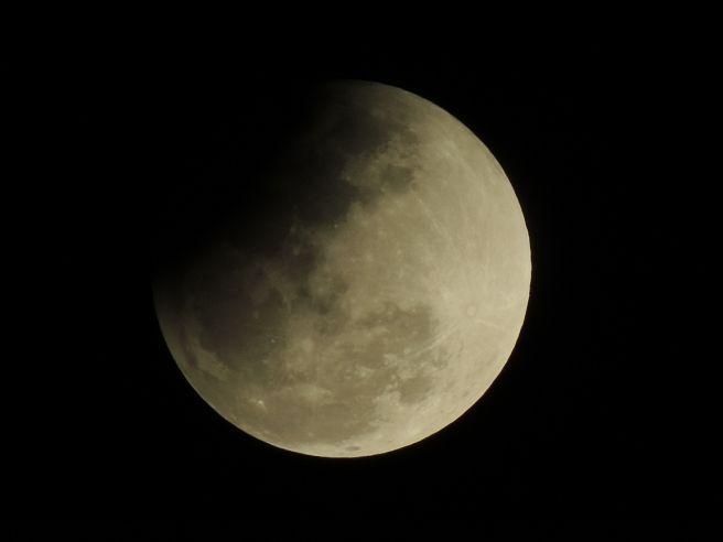 Eclipe visto em Tangará da Serra-MT