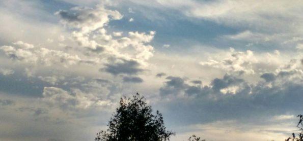 Possíveis nuvens relacionadas ao Vulcão Ubinas