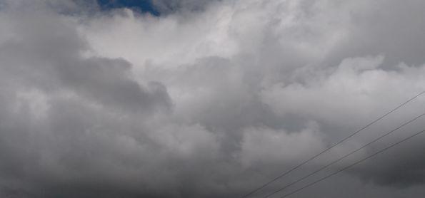 Chuva intermitente em Camaragibe