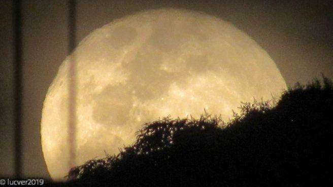 Nascer da Lua Cheia 17/07/2019 Vista Do Rio de Janeiro