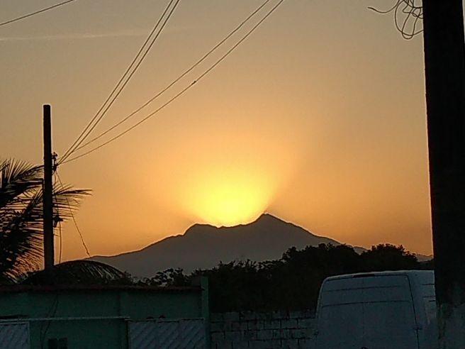 Crepúsculo em chácaras Rio Petrópolis
