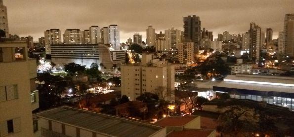 E a tarde vira noite às 16h em Santo André - SP