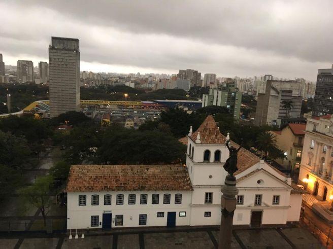 Tarde vira noite em São Paulo