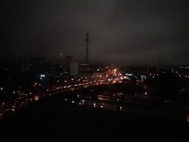 Tudo escuro em S. Bernardo Campo as 16h00 !!!