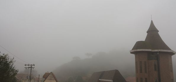 Neblina e garoa