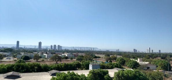 Tarde e tempo muito seco em Palmas