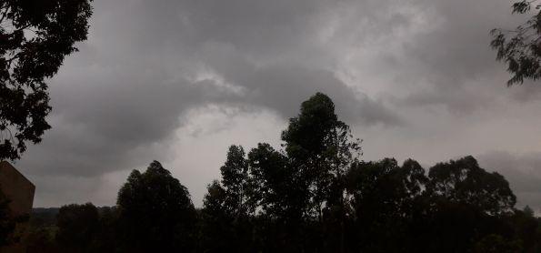 Inicio da chuva