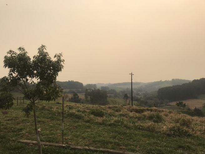 Fumaça em São Miguel do Oeste