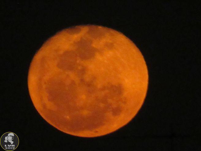 Lua Cheia vista do Rio de Janeiro - 15/09/2019