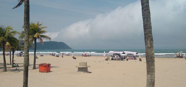Nuvem Rolo em Praia Grande