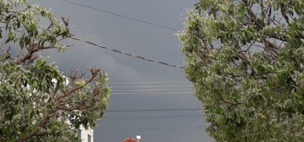 Chuva em Castanheira-MT