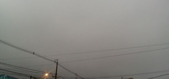 Chuva forte nessa manha de quinta feira em curitiba