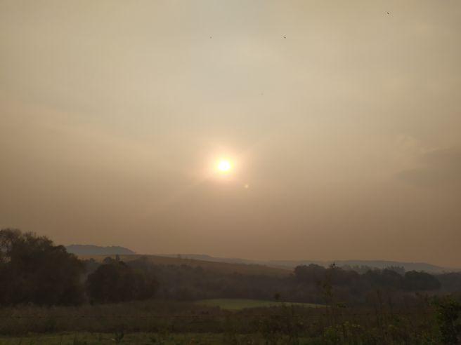 Ar poluído em Realeza