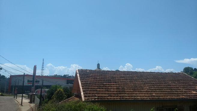 Tempo firme e quente em Erechim (RS)
