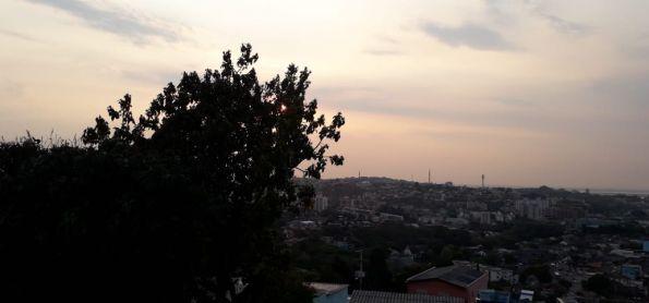 Calor intenso em Porto Alegre 35º graus