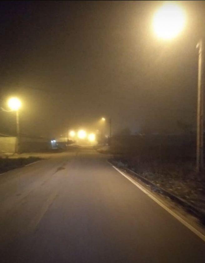 Noite agradável  aproximando as 19 C em Xinguara pará