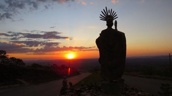 Pôr do sol de 14 de outubro em São Thomé das Letras...