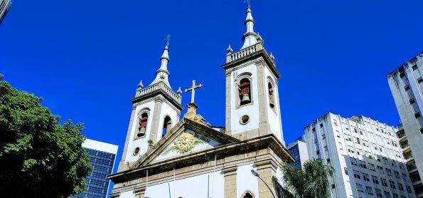 Igreja de Santa Luzia - Centro Rio
