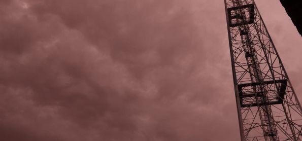 Apesar da chuva ter passado o céu permanece encoberto