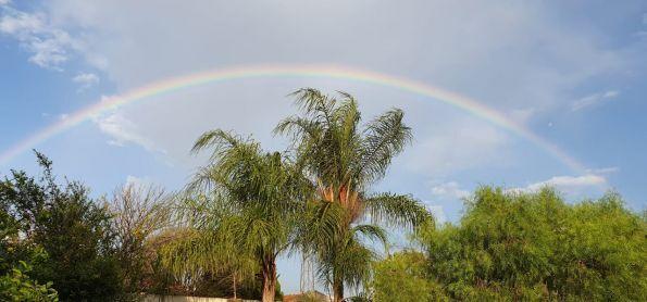 Arco-Íris no céu de Bauru