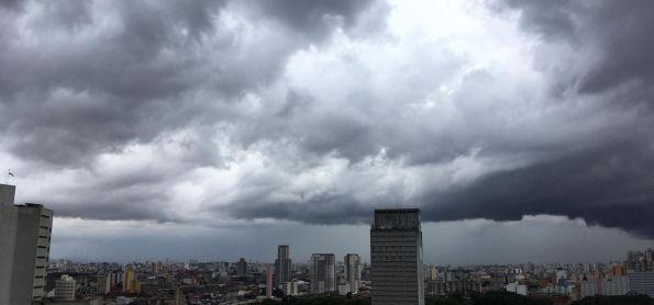 Tempo fecha em São Paulo
