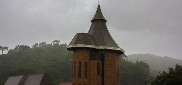 Temporal em Santo Antônio do Pinhal - SP