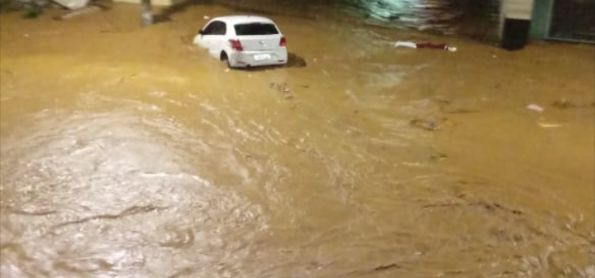 Chuva Pesada no Sul do ES
