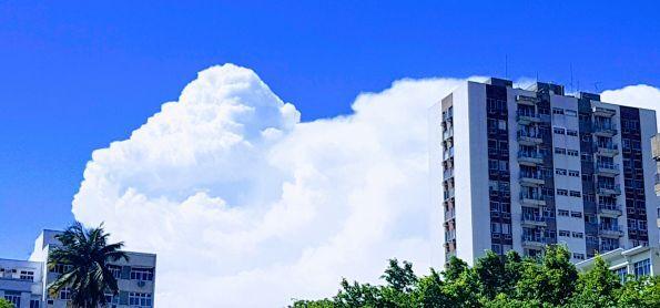 Nuvem e céu