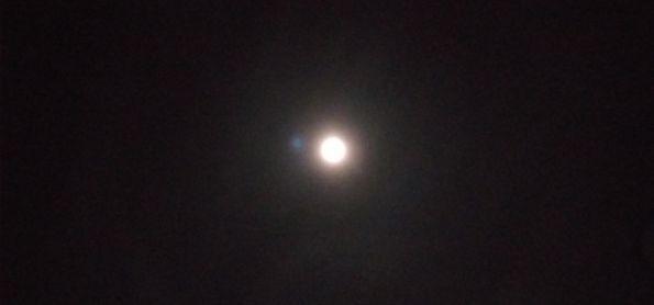 Halo Lunar em Planalto-BA