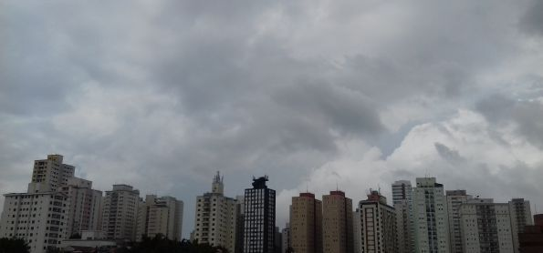 Tarde em São Paulo!
