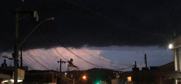 Tempestade se aproximando!