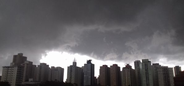Chuva em São Paulo!