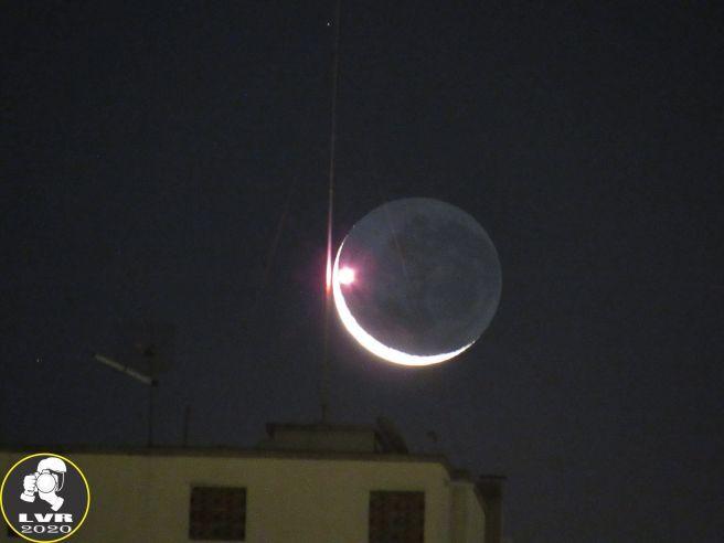 Lua Crescente hoje 26/03/2020 - Rio de Janeiro