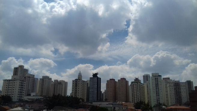 Dia de sol e de calor em São Paulo!