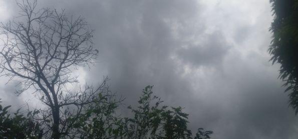Chuva ja na manhã aqui em Teresina