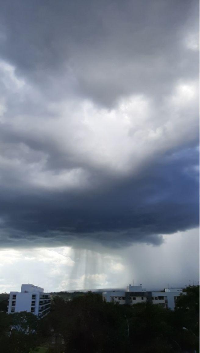 Chuva de abril na Capital